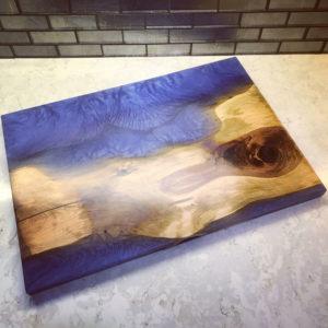 Cedar Blue Charcuterie Board